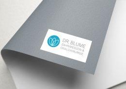 Klicklabor Website für Dr. Blume