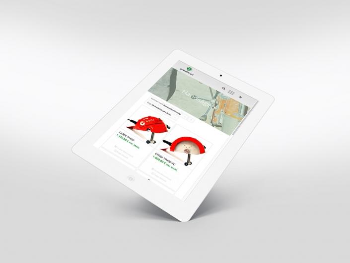 Onlineshop für Proditool